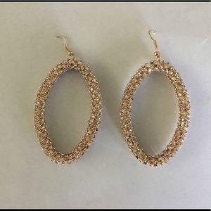 Jewelry - Oval Bling Earrings